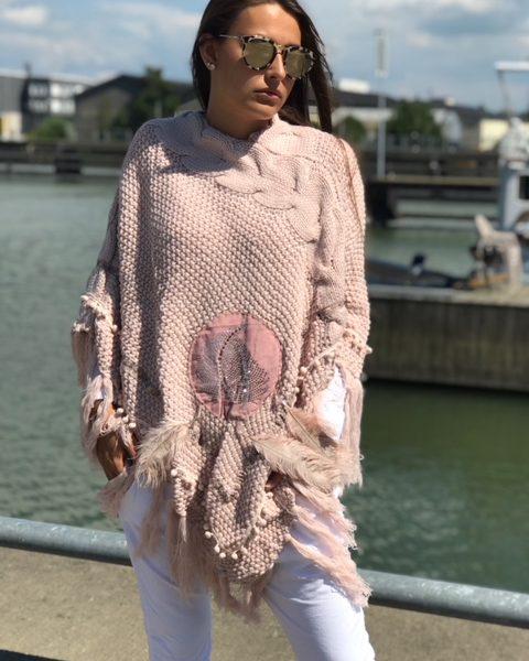 poncho-rosa