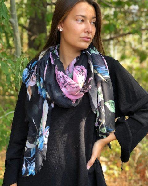 blomman-sjal-svart