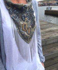 lana ljus sjal