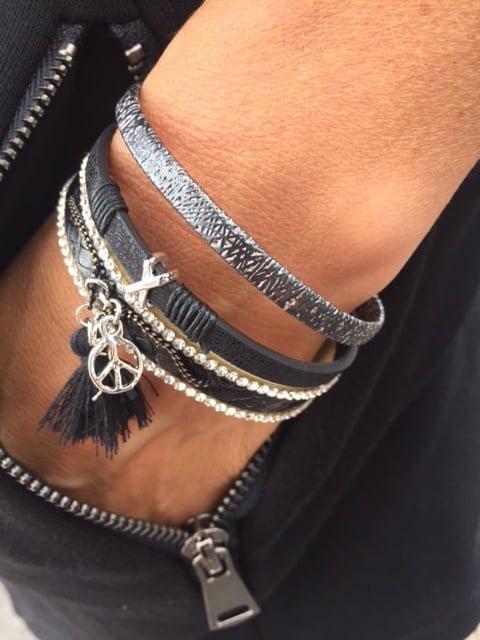 elektra armband svart