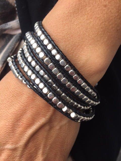 bergamo silver armband