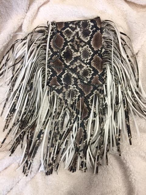 Väska brun snake