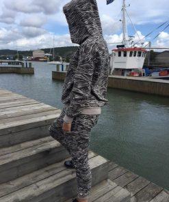 zebra hoodie loika