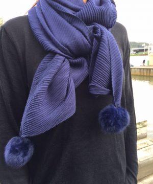 ally blå sjal
