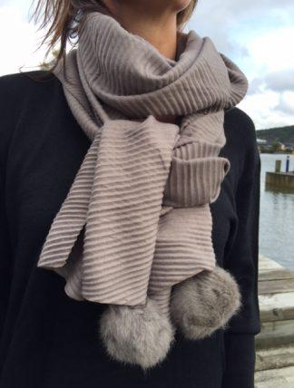 ally beige sjal