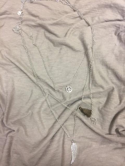 tiara silverhalsband