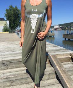 sandra grön klänning
