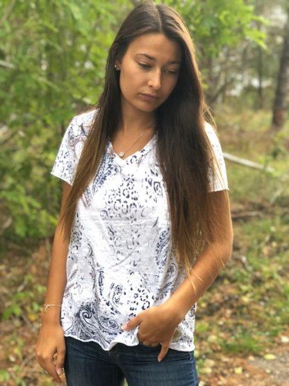 vit paisley t-shirt