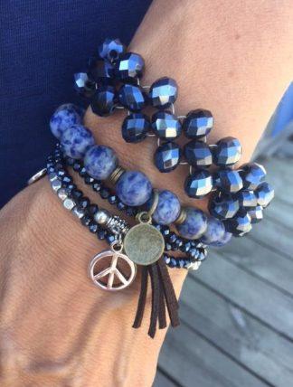 armband med peace