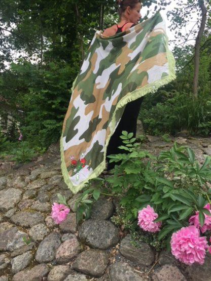 camo sarong