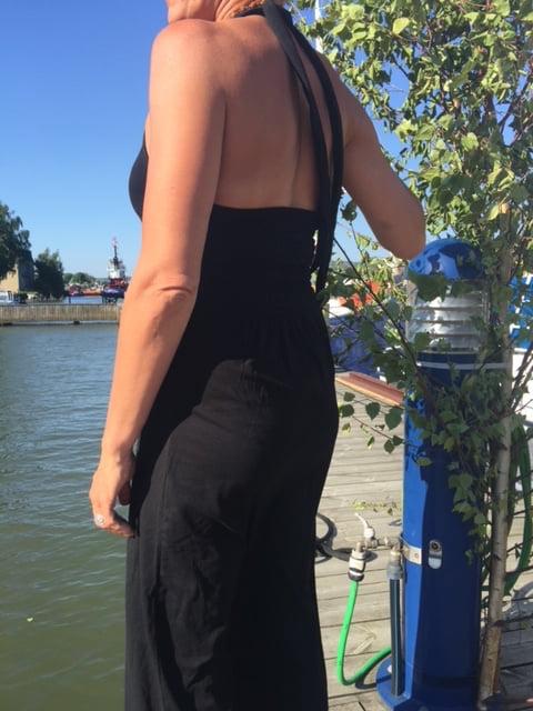 ebba svart klänning