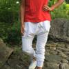 girl power dress röd