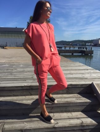 jumpsuit corall