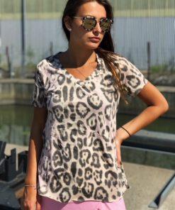 leo/rosa t-shirt