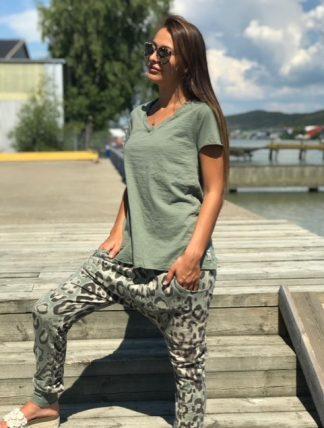 gröna kläder för dam