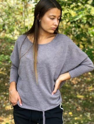 brunbeige tröja från lo-ika