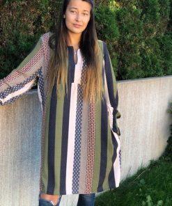 bohem klänning