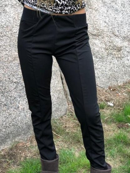 svarta leggings