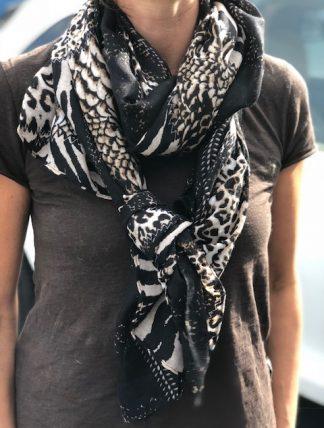 leo zebra sjal