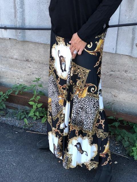 kjol med mönster