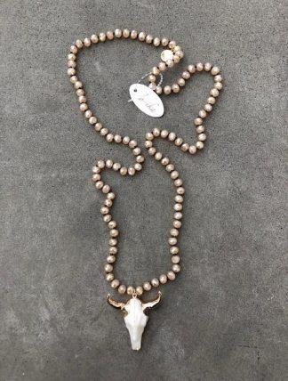 halsband med tjur