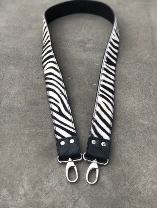 axelrem till väska zebra