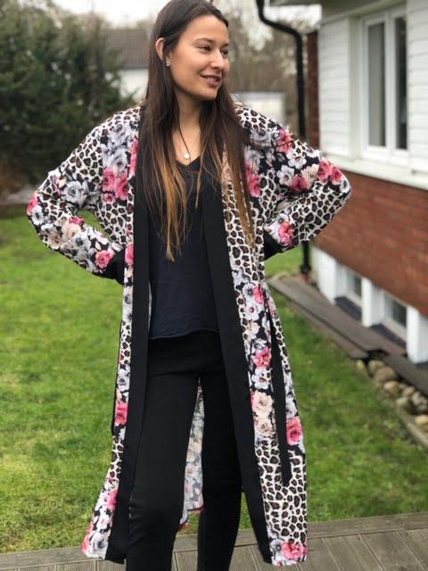 kimono med härliga färger