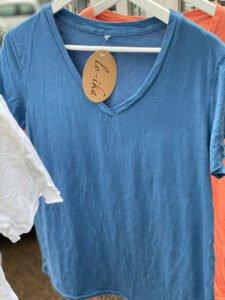 Ana t-shirt lo-ika blå