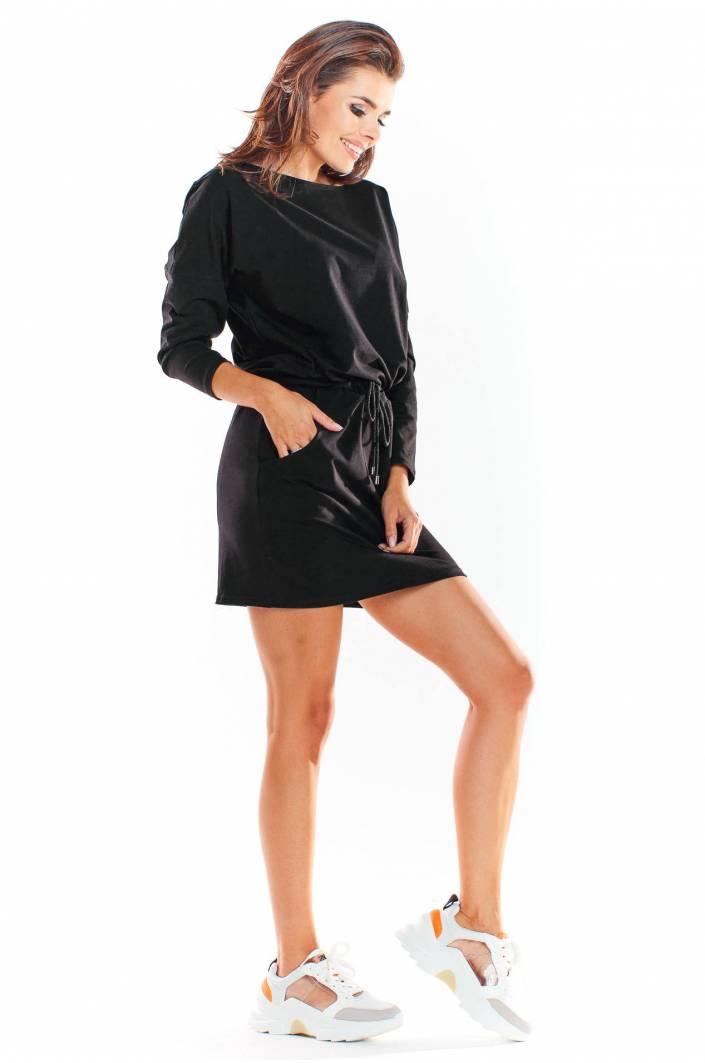 kjol och topp set svart dam