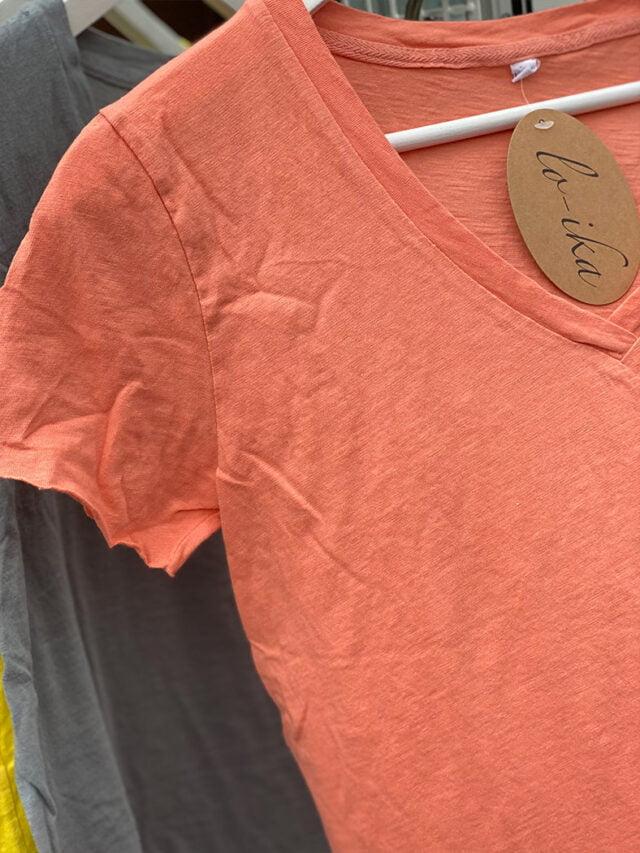 Ana t-shirt lo-ika orange