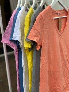 ana t-shirts sommarfärger