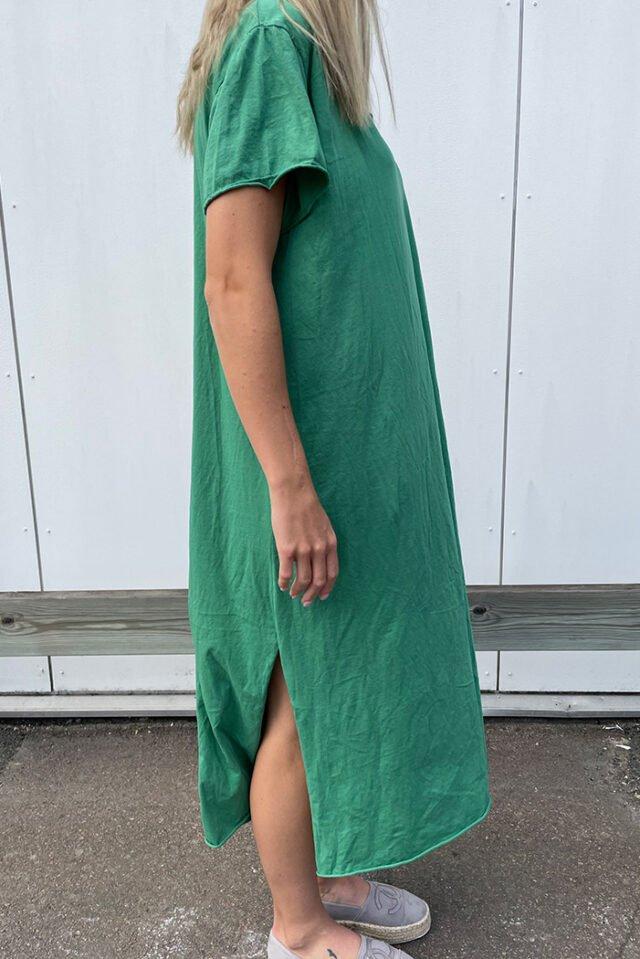 t shirtklänning dam guccigrön