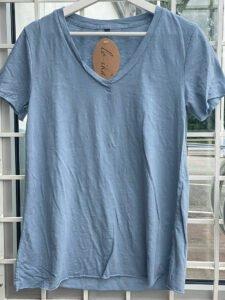 Ana t-shirt ljusblå loika