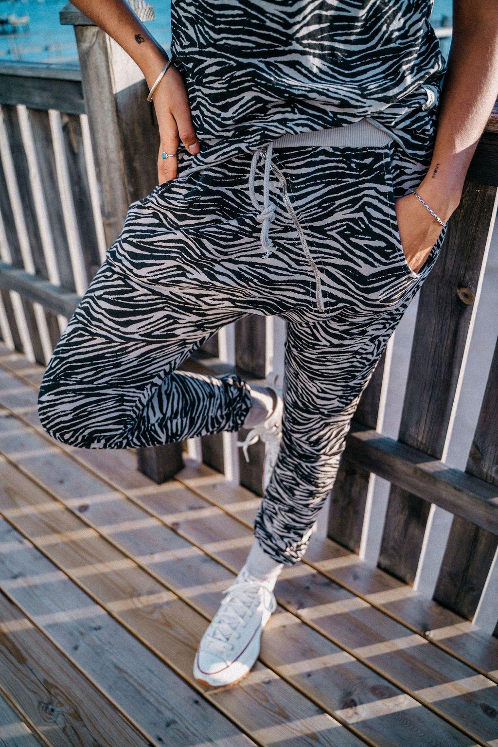 Annemi byxa zebra lo-ika