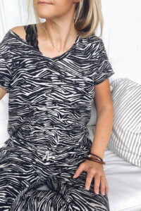 ana t-shirt zebra lo-ika