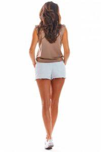 linne dam loose fit beige