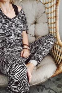 Zebra outfit